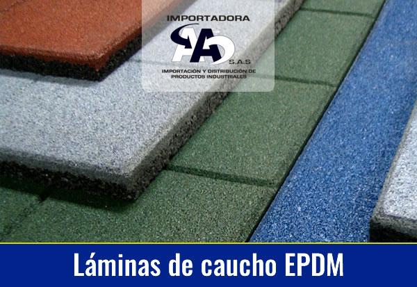 Láminas de Caucho EPDM