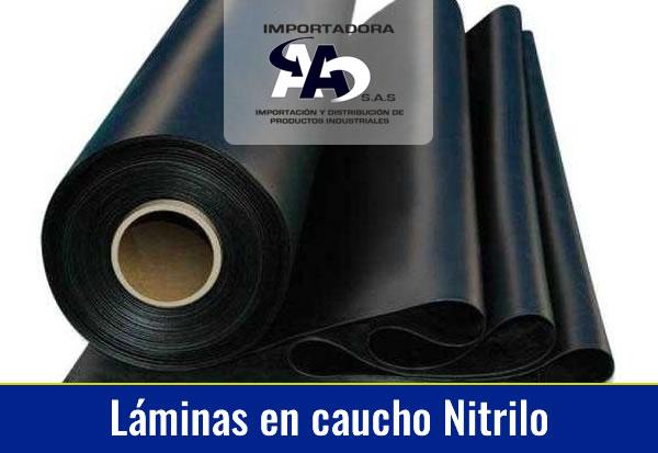 Láminas en Caucho Nitrilo