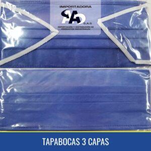 TAPABOCAS 3 CAPAS